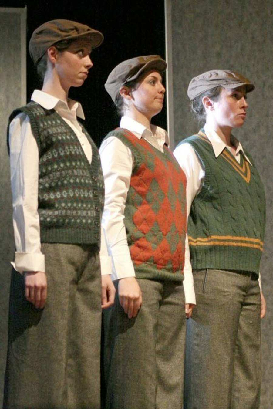Third Boy in the Choir of London 2007 production of The Magic Flute in Israel and the Palestinian Territories, with Isabelle Adams and Catherine Carter (photographer Sophie Pickford)